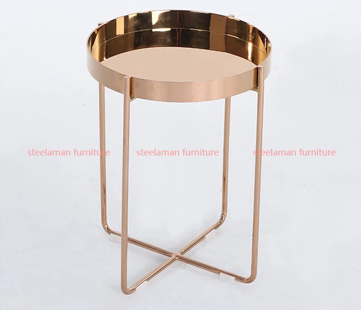 Stainless steel side table G301